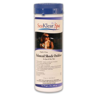 1140311: Water Care, Seaklear, Shock Oxidizer, 2lb Bottle