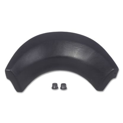 "25700-104-H-2: Pillow,CMP,Neck Collar,11"" x 3-1/2"",(2)Mounting Pins,Black"