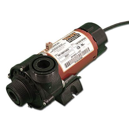 "300-9020: Circulation Pump, Waterway Tiny Might, 1/16HP, 230V, .4A, 1-Speed, 14-18GPM, 1""MBT, Less Unions, Side Discharge"