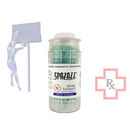 376: Fragrance, Spazazz, RX Beads, Sport Therapy, 5oz Cartridge