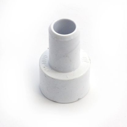 "425-1070: Fitting, PVC, Smooth Barb Adapter, 3/4""SB x 3/4""S"
