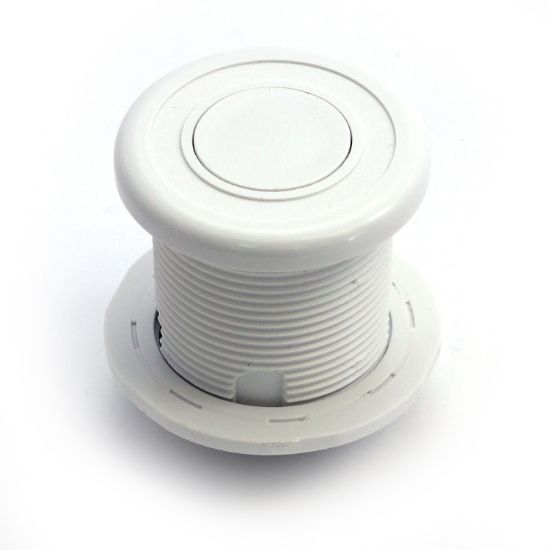 LG10-WHT: Air Button, Len Gordon #10, White