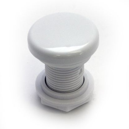 "3652: Air Control, G&G Top Draw Cap, 1/2"", White"
