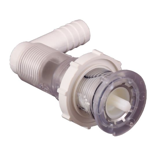 "PA54000: Air Control Valve, Jacuzzi Whirlpool Bath, 1/2""S Volume Control (Single), w/90 Degree Ell"