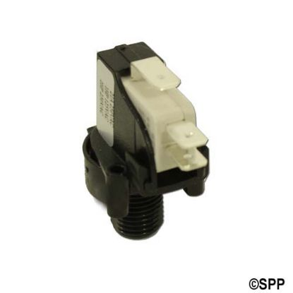 6871: Air Switch, Herga, Latching, SPDT, 20A, Center Spout