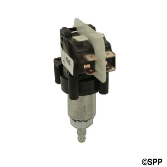 "TBS-3213: Air Switch, Tecmark, Latching, DPDT, 20A, 1/8"" Barb Fitting"