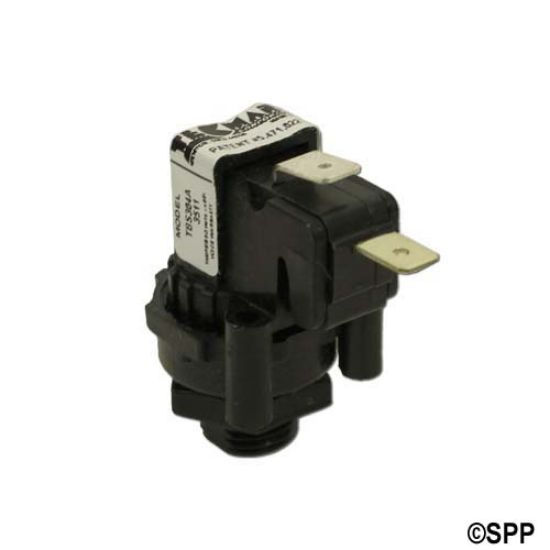 TBS-304: Air Switch, Tecmark, Momentary, SPNO, 10A, Center Spout
