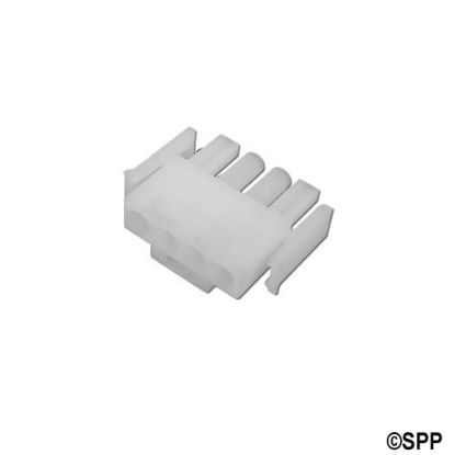1-480702-0: Amp Plug, 4 Pin Male, White