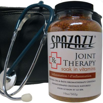 SZ602: Aromatherapy, Spazazz, Rx Crystals, 19oz, Joint Therapy