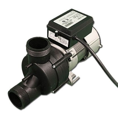 "1010031: Bath Pump, Vico Wow, Front/Top, .5HP, 115V, 5.5A, 1-1/2""MBT w/Air Switch & NEMA Cord"