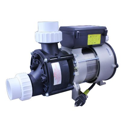 "WBH100: Bath Pump, LX WBH-100, Front/Top, 1Spd, .75HP, 115V, 7.5A w/Air Switch, 3'NEMA Cord & 1-1/2""Unions"
