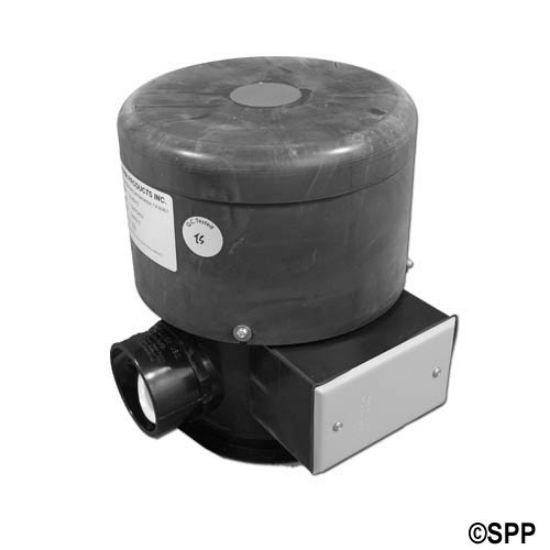 400-15220-BOX: Blower, Outdoor, Therm 460, 1.5HP, 230V, 4.5A, J-Box