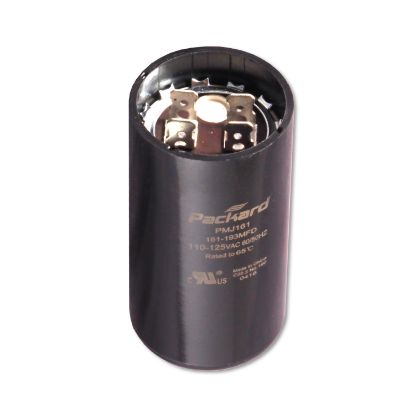 "BC-161: Capacitor, Motor Start, 115V, 161-193 MFD, 1-7/16"" Dia. x 2-3/4"" Length"