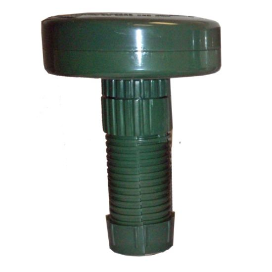 "MP-1973-E-C: Chemical Feeder, Floating, MP Industries, Green, 1""Tabs"