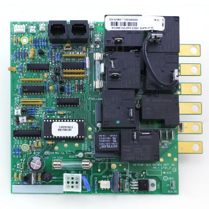 ELE09100290: Circuit Board, Cal Spa (Balboa), C2001R2B, Super Duplex, 8 Pin Phone Cable