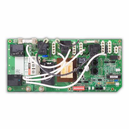 ELE09100232: Circuit Board, Cal Spa (Balboa), COLE2PDVR1x, VS520SZ (2/3 Pump), 8 Pin Phone Cable