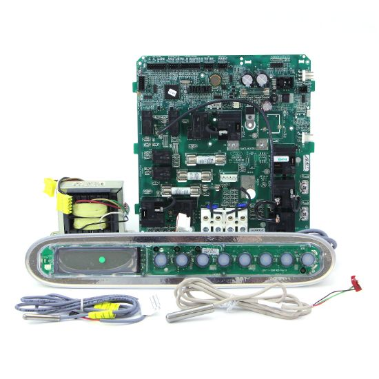 07-0019: Circuit Board, Dimension One (Gecko), MSPA Kit w/Temp & Hi-Limit Sensors, Transformer, Spaside, Less Overlay