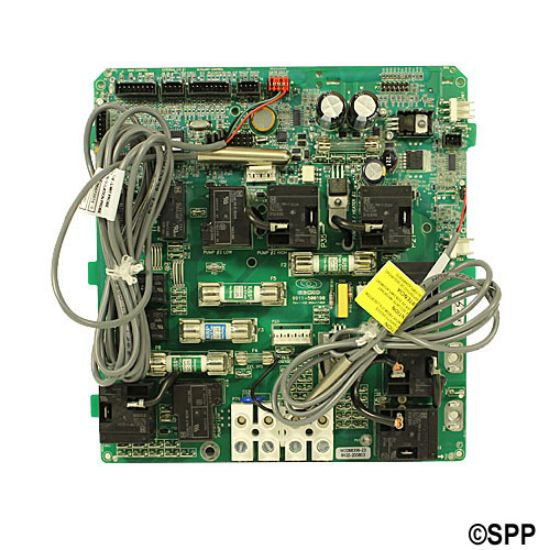 3-60-6040: Circuit Board, Gecko, MSPA1-4 Kit w/Temp & Hi-Limit Sensor, Transformer