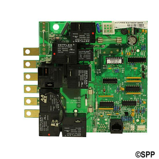 50920: Circuit Board, Jacuzzi (Balboa), H716R1, Duplex Digital, 8 Pin Phone Cable