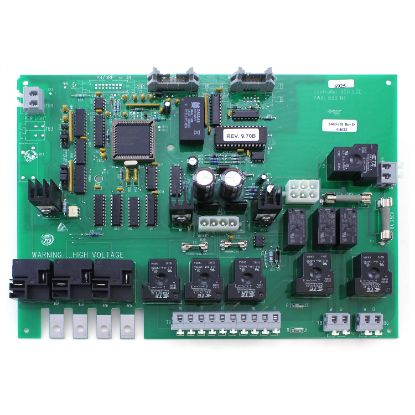 6600-101: Circuit Board, Jacuzzi, J380/385, LCD, 3-Pump, Ribbon Cable