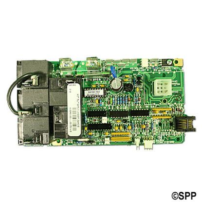 52100: Circuit Board, Leisure Bay (Balboa), V124R/240R1, Lite Leader, 8 Pin Phone Cable