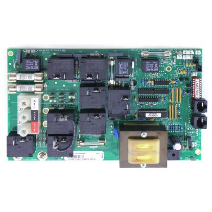 ELE09100206-R: Circuit Board, REFURBISHED, CAL SPA, 2200R1(Balboa)2000LE(P1-P2-BL-CIRC-OZ-LT)