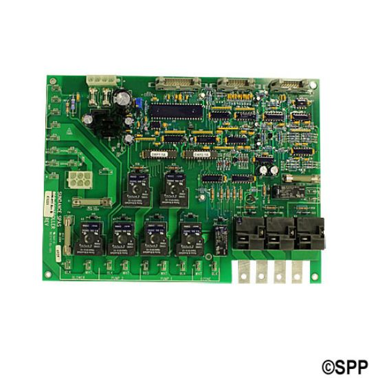 6600-055: Circuit Board, Sundance, 600 / 650 LED, Rev. DXP-1.1/DXP2.1, (09/95 - 05/31/97), 1-Pump