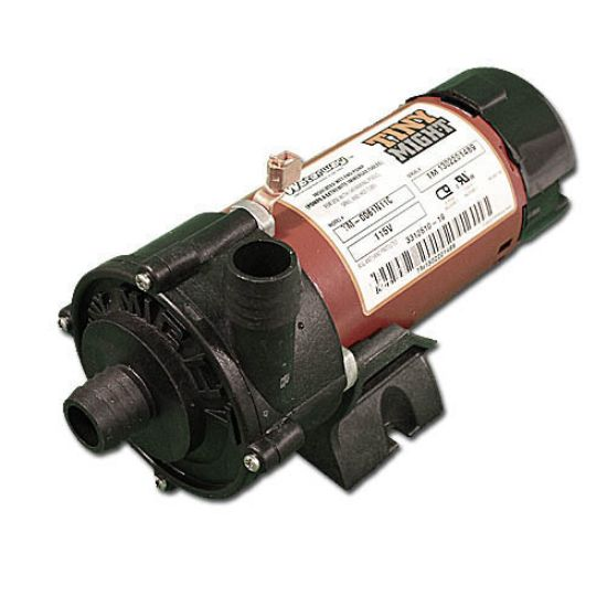 "3312610-19: Circulation Pump, Waterway Tiny Might, 1/16HP, 115V, .8A, 1-Speed, 14-18GPM, 1""Barb, Side Discharge"