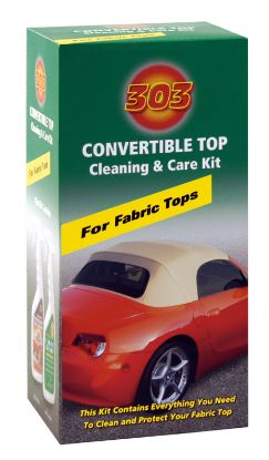 030520: Cleaning Product, 303, Fabric Convertible Top Kit, 16oz Spray Bottle