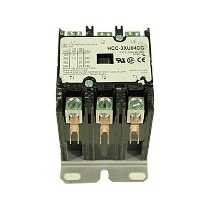 3PC-240: Contactor, 3PST, 240VAC Coil, 50A