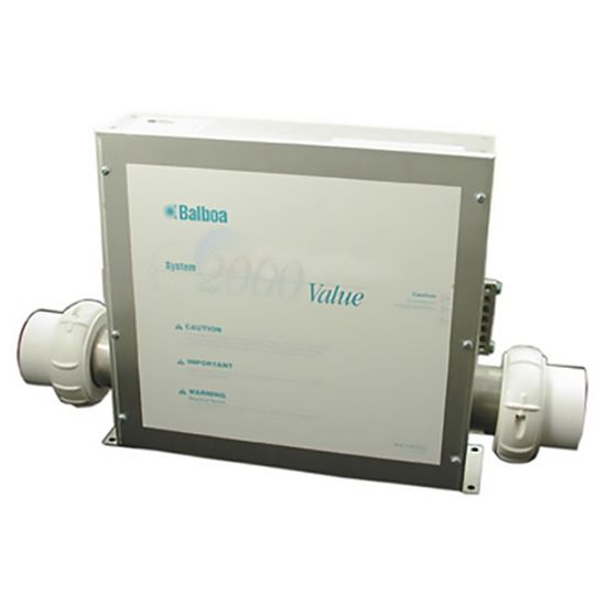 54160-HC: Control System, Balboa Value, 1.4/5.5kW, Pump1, Blower w/AMP Cords, Less Spaside
