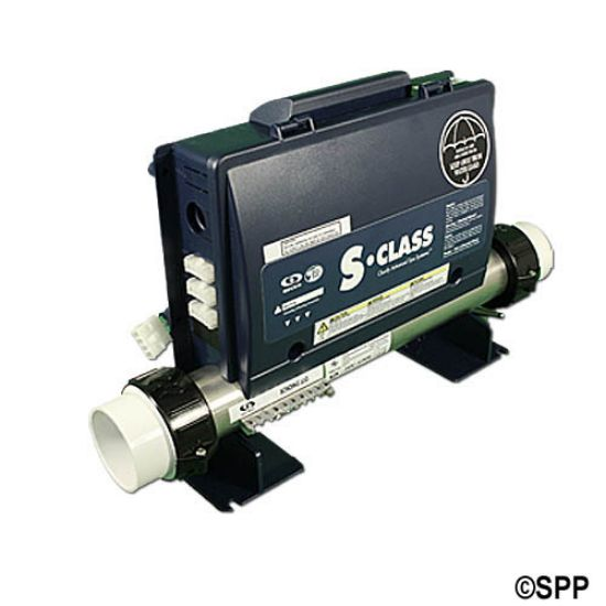 0202-207004: Control System, Gecko Propak, 1.0/4.0kW, Pump1, Blower/Pump2 (1 Spd), AMP Receptacle, Less Cords & Spaside