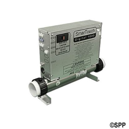 "SMTD1000PBA-4G: Control System, (Kit), ACC SMTD1000, 1.4/5.5kW (15"" Heater), Pump1, Blower/Pump2 (1 Spd), w/AMP Cords, KP1000 Spaside"
