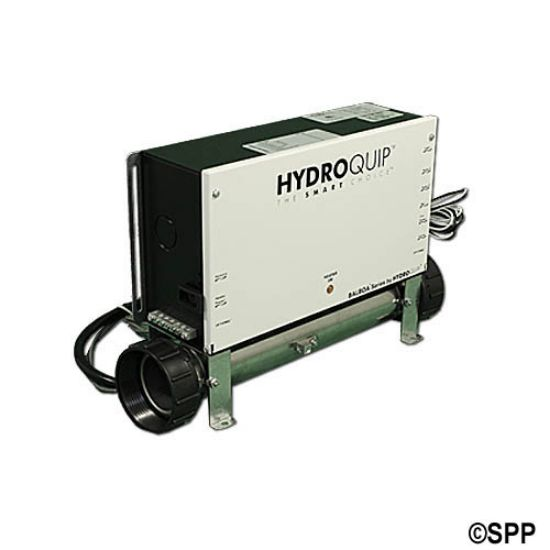 CS6209B-US: Control System, (Kit), HydroQuip VS501Z, M7 Slide, 1.4/5.5kW, Pump1, Blower/Pump2 (1 Spd), w/Molded Cords & VL200 Spaside