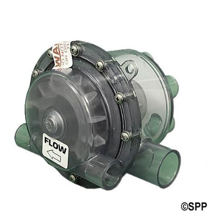 "17-6075: Cycle Valve III, HydroAir, 6-Port, 1/2""S Jet Ports"