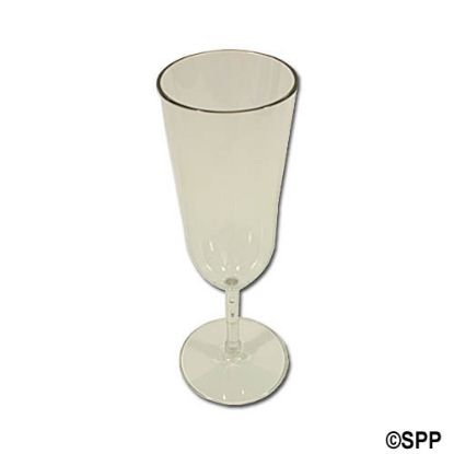 A12424CC: Drinkware, Acrylic, 7oz Americana Flute Glass, Case Of 24