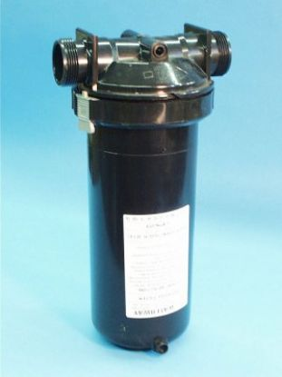 500-2590: Filter Assembly, 25 Sq Ft, w/By-Pass & Brominator