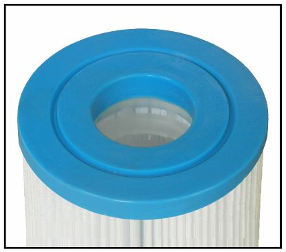 "P-4401M: Filter Carteridge, Proline, Diameter: 4-15/16:, Length: 4-5/8"", Top: 2-1/8"" Open, Bottom: 2-1/8"" Open, 35 sq ft, Microban  (Antibacterial)"