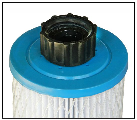 "P-2699: Filter Cartridge, Proline, Diameter: 2-7/8"", Length: 9-3/4"", Top: Hose Fitting, Bottom: Closed  4Sq. Ft."