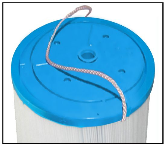 "P-6659: Filter Cartridge, Proline, Diameter: 6-15/16"", Length: 22-3/8"", Top: Closed w/ string Handle, Bottom: 2-1/16"" Open  60Sq. Ft."