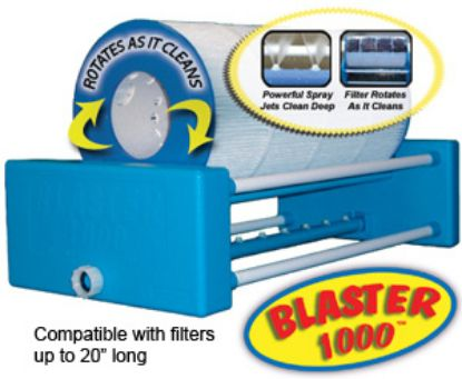 "BLASTER1000: Filter Cleaner, Blaster 1000, 20"" Automatic Filter Cleaner"