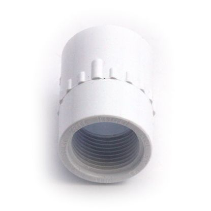 "2540-004: Fitting, PVC, Adapter, Jacuzzi Waterfall, 3/4""S x 3/4""FPT"