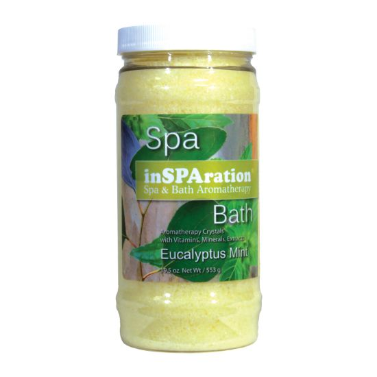 743: Fragrance, Insparation Crystals, Eucalyptus Mint, 19oz Jar