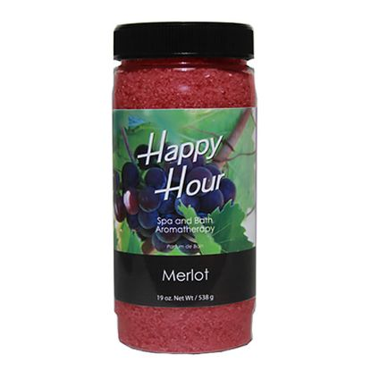 783: Fragrance, Insparation Happy Hour, Crystals, Merlot, 19oz Bottle