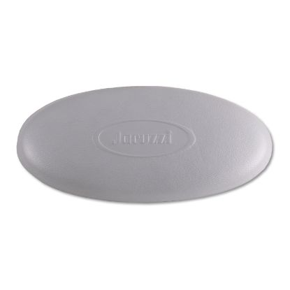 "6455-007: Pillow Insert, Jacuzzi, Oval, 9"" x 4-1/2"", Silver"