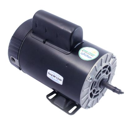 B2242: Motor, A.O.Smith, Thru-Bolt, 56-Frame, 2-Speed, 2.5HP, 230V, 11.6/3.0 Amp