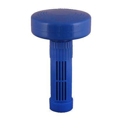 "PD1008BLUE-BU: Floating Chemical Feeder for 1"" Tabs, Spabasix!, Blue"