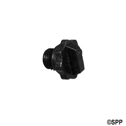 6500-547: Plug, Pump Housing, Jacuzzi Piranha/Theramax/Theraflo w/ O-Ring