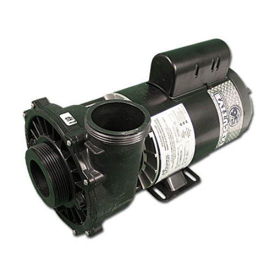 "3721621-1D: Pump, Waterway Executive 56, 4.0HP, 230V, 12.0/4.4A, 2-Speed, 2""MBT, SD, 56-Frame"