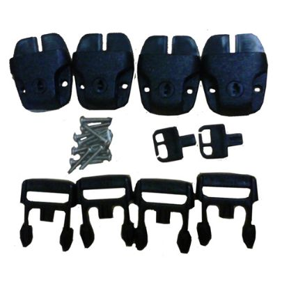 ROBUCKLES: Replacement Buckles, Cover, Contains 4 Buckles